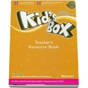 Kids Box Starter Teachers Resource Book with Online Audio British English