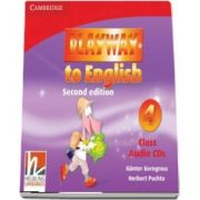 Playway to English Level 4 Class Audio CDs (3)