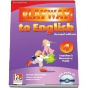 Playway to English Level 4 Teachers Resource Pack with Audio CD