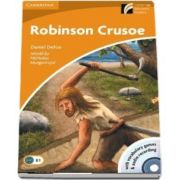 Robinson Crusoe Level 4 Intermediate Book with CD-ROM and Audio CD