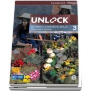 Unlock: Unlock Level 3 Listening and Speaking Skills Teachers Book with DVD