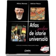Atlas scolar de istorie universala - 2018