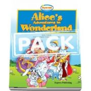 Curs de limba engleza - Alices Adventures in Wonderland Reader and DVD