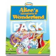 Curs de limba engleza - Alices Adventures in Wonderland Teachers Book with Audio CD and DVD