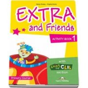 Curs de limba engleza - Extra And Friends 1 Activity Book