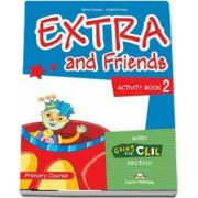 Curs de limba engleza - Extra and Friends 2 Activity Book