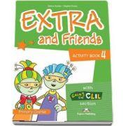 Curs de limba engleza - Extra and Friends 4 Activity Book