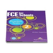 Curs de limba engleza - FCE for Schools Practice Tests 2 Class Audio CDs (set 4 CDuri)