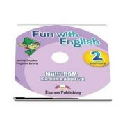 Curs de limba engleza - Fun with English 2 Primary Multi ROM (CD Rom and Audio CD)