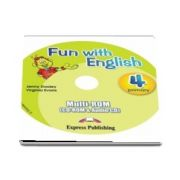 Curs de limba engleza - Fun with English 4 Primary multi ROM (CD-Rom and Audio CD)
