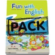 Curs de limba engleza - Fun with English 4 Primary Pupils Book (with multi ROM)