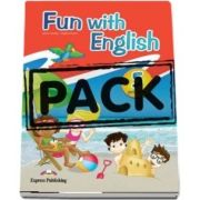 Curs de limba engleza - Fun with English 5 Primary Pupils Book (with multi ROM)