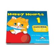 Curs de limba engleza - Happy Hearts 1 DVD