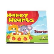 Curs de limba engleza - Happy Hearts Starter Pupils Book (Virginia Evans)