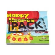 Curs de limba engleza - Happy Hearts Starter Pupils Book with Stickers and Press Outs