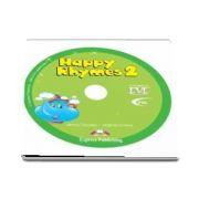 Curs de limba engleza - Happy Rhymes 2 DVD