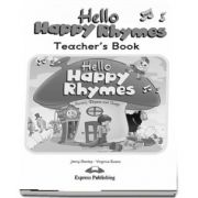 Curs de limba engleza - Hello Happy Rhymes Teachers Book