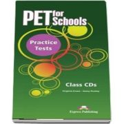 Curs de limba engleza - PET for Schools Practice Tests Class CDs (set 5 CDuri)