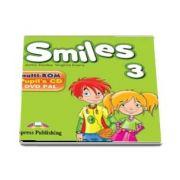 Curs de limba engleza - Smiles 3 Multi Rom