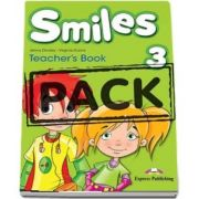Curs de limba engleza - Smiles 3 Teachers Book with Posters