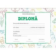 Diploma - Format A4 (model imagine desene)