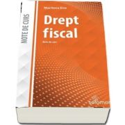 Drept fiscal - Note de curs