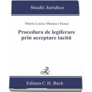 Procedura de legiferare prin acceptare tacita