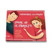 Provocarile lui Cupidon. Joc de carti cu intrebari deschise si provocari pentru cupluri