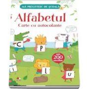 Alfabetul, carte cu autocolante