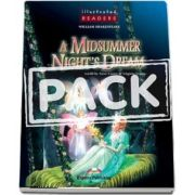Curs de limba engleza - A Midsummer Nights Dream Book with Audio CD