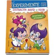 Experimente pentru copii - distractiv, rapid si usor, vol 1- portocaliu