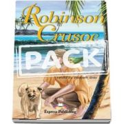 Robinson Crusoe with Activity Book and Audio CD