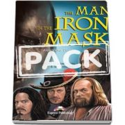 The Man in the Iron Mask Book with Activity Book and Audio CDs