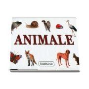 Animale - Pliant de carton 17 x 9 cm