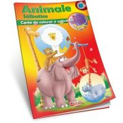 ANIMALE SALBATICE - Carte de colorat si activitati
