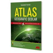 Atlas geografic scolar. Editia a V-a - realizat de Constantin Furtuna