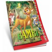 Bambi. Carte de colorat