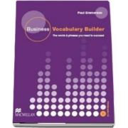 Business Vocabulary Builder Intermediate Students Book and CD Pack