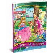 Carte de colorat pentru fete