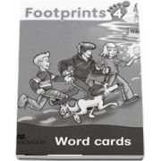 Footprints 4 Word Cards