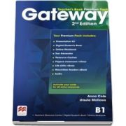 Gateway 2nd Edition B1 Teachers Book Premium Pack