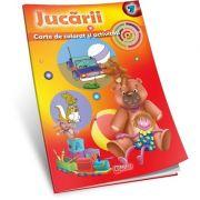 Jucarii - Carte de colorat si activitati