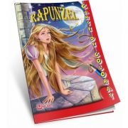 Rapunzel. Carte de colorat