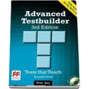 Advanced Testbuilder. Students Book with key Pack, 3rd edition