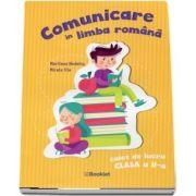 Comunicare in limba romana. Caiet de lucru, clasa a II-a