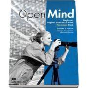 Open Mind British edition Beginner Level Digital Students Book Pack Premium