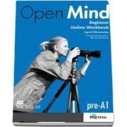 Open Mind British Edition Beginner Level Student Online Workbook