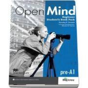 Open Mind British edition Beginner Level Students Book Pack