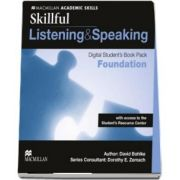 Skillful Foundation Level Listening and Speaking Digital Students Book Pack