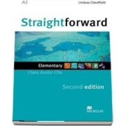 Straightforward Elementary. Class Audio CDx2, 2nd Edition